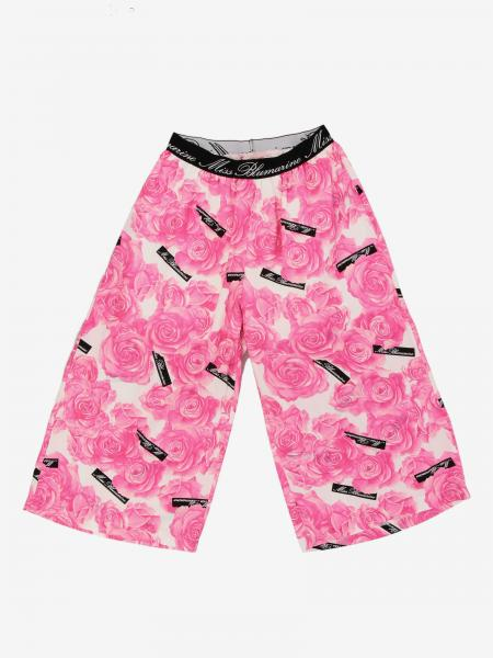 Pantalon large Miss Blumarine avec logo