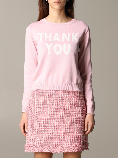 Pullover Blumarine con scritta thank you