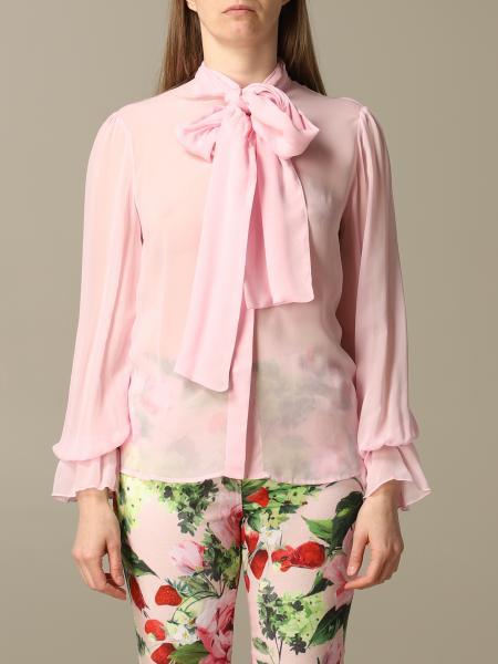 Camicia camicia be blumarine in chiffon con fusciacca Be Blumarine - Giglio.com