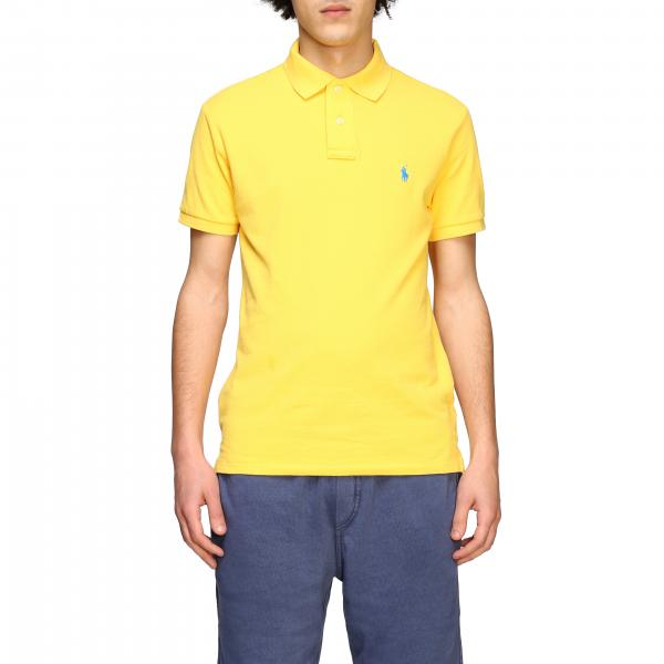 Polo Ralph Lauren polo shirt in honeycomb cotton