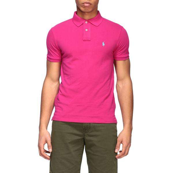 Polo Ralph Lauren polo shirt in honeycomb cotton