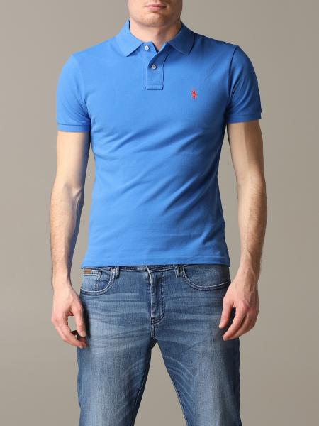 Polo Ralph Lauren polo shirt with slim short sleeves