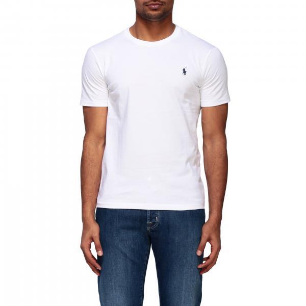 T-shirt Polo Ralph Lauren a girocollo con logo
