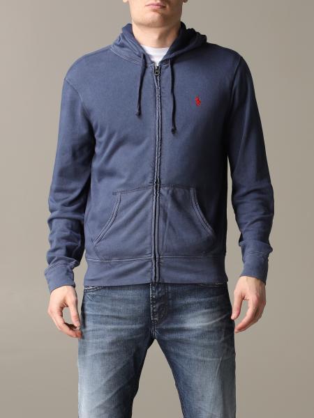 Polo Ralph Lauren Sweatshirt mit Kapuze und Reißverschluss
