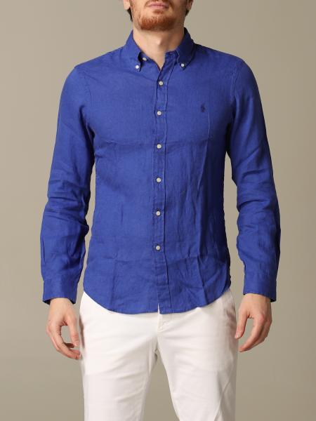 Polo Ralph Lauren linen shirt with button-down collar