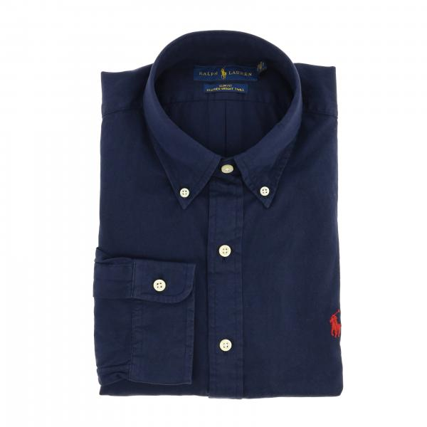 Polo Ralph Lauren shirt in cotton with button-down collar