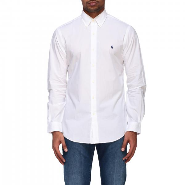 Polo Ralph Lauren poplin shirt with button down collar