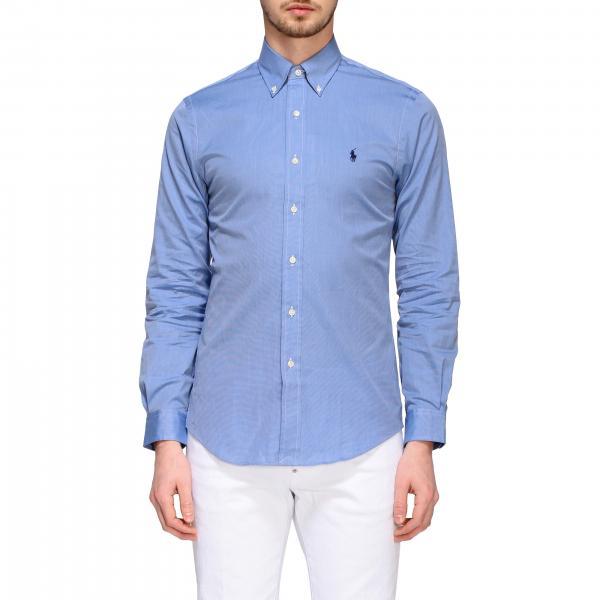 Camicia Polo Ralph Lauren con collo button down
