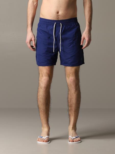 Costume a boxer Polo Ralph Lauren in nylon con logo