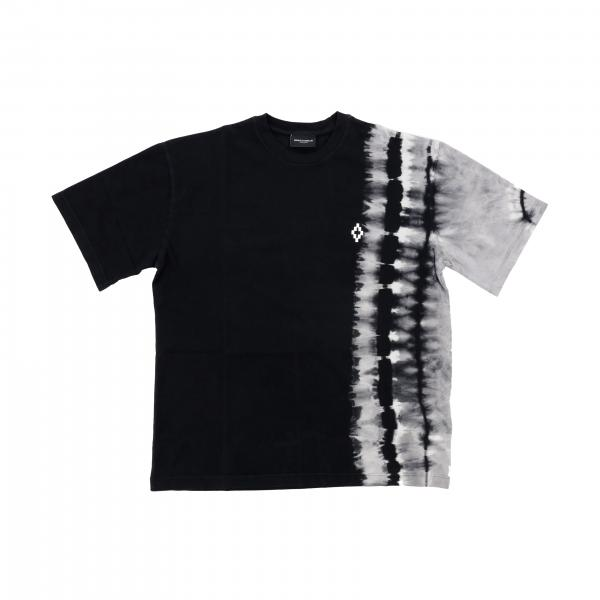 Marcelo Burlon short-sleeved T-shirt with tie dye print