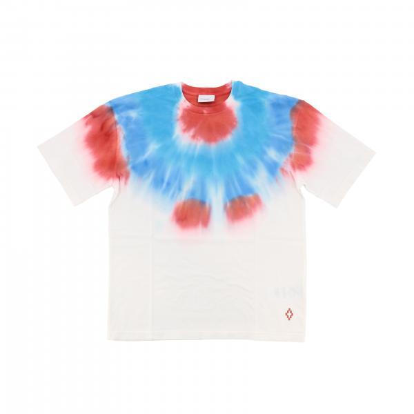 T-shirt Marcelo Burlon à manches courtes avec imprimé tie dye