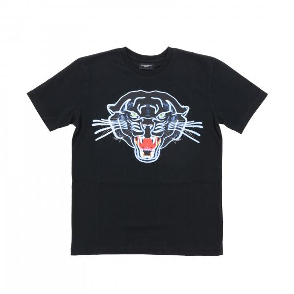 Marcelo Burlon t-shirt with short sleeves and tiger print