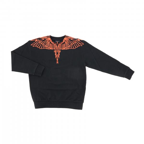 Marcelo Burlon crewneck sweatshirt with feather print