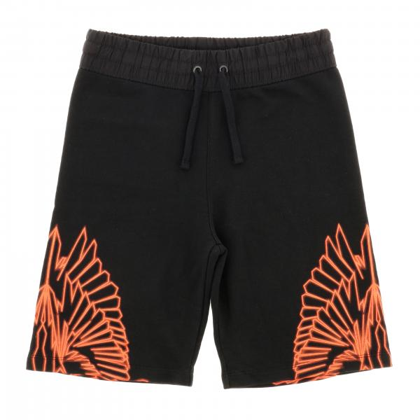Marcelo Burlon shorts with feathers print