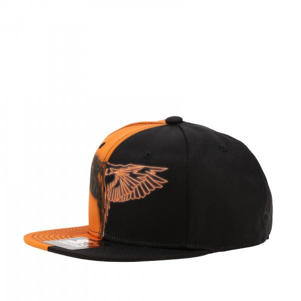 Marcelo Burlon baseball style hat with two-tone effect