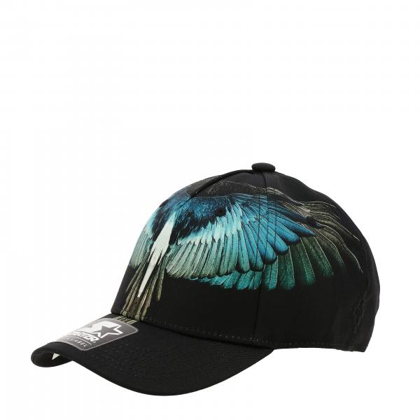 Marcelo Burlon baseball cap with feathers print