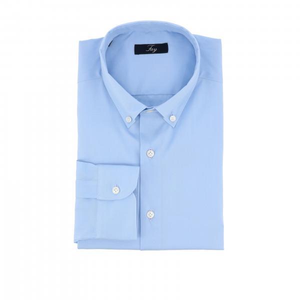 Camicia Fay classica con collo button down