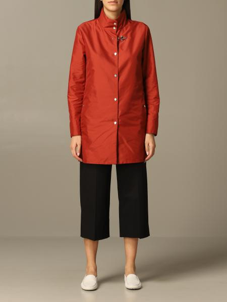 Fay Virginia caban coat in nylon with frog