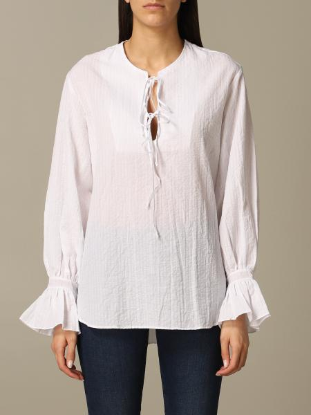 Wide Fay shirt with long sleeves