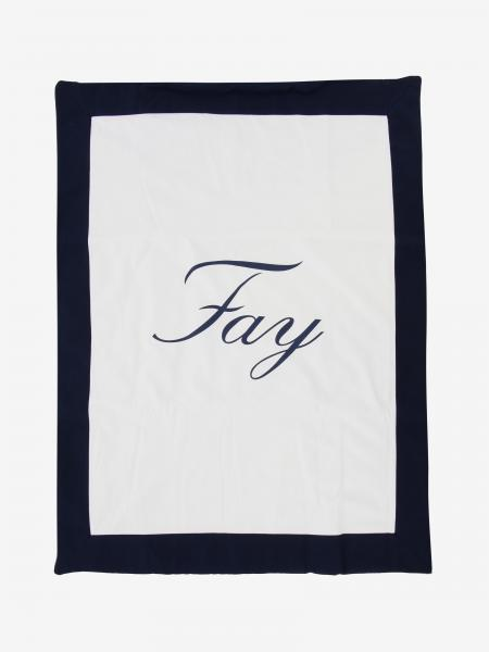 Fay cotton blanket with logo