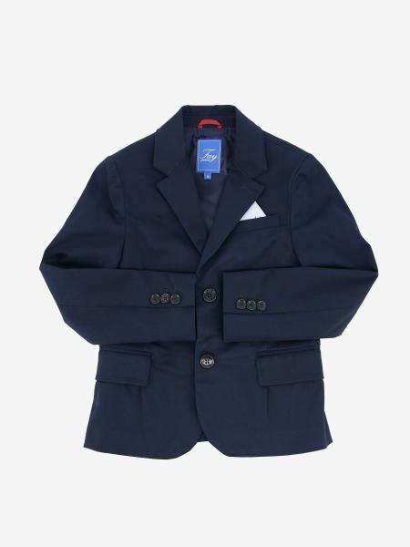 Fay single-breasted cotton jacket