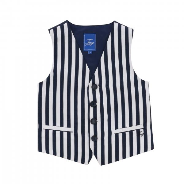 Fay striped vest