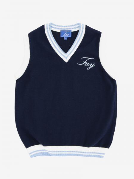 Fay Weste mit Logo