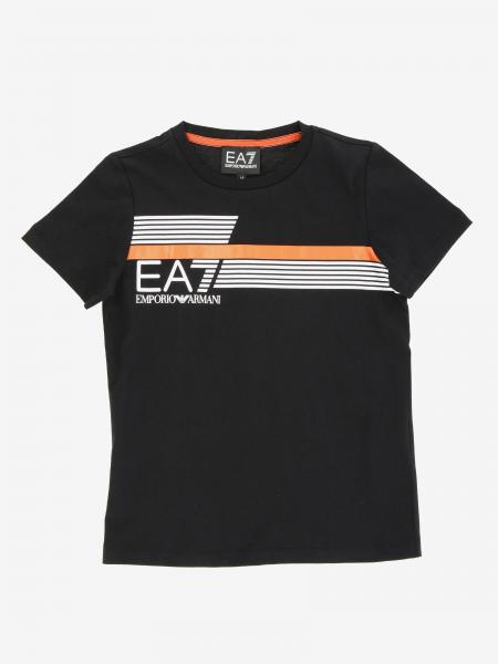 EA7 t-shirt with logo print