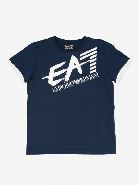 EA7 short-sleeved T-shirt with logo