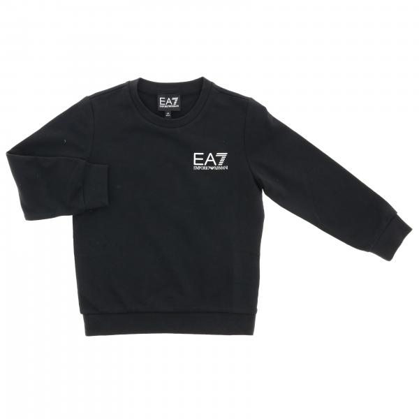 EA7 crewneck sweatshirt with logo
