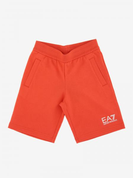 EA7 shorts with logo