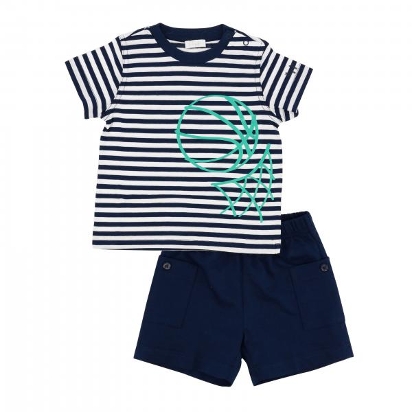 Il Gufo t-shirt + shorts set
