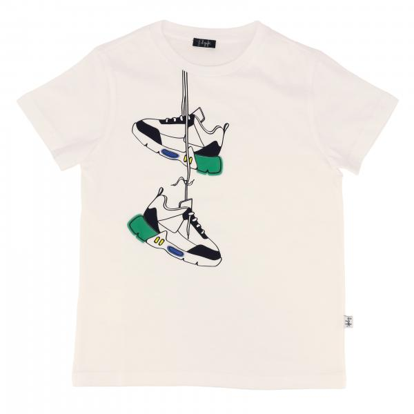 Il Gufo short-sleeved t-shirt with shoe print