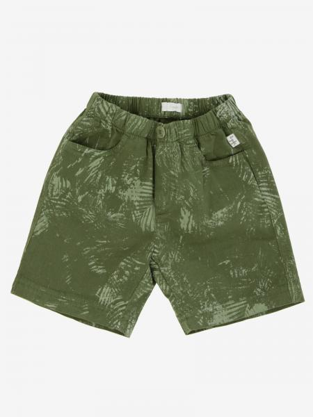 Il Gufo Shorts mit Blätter Print