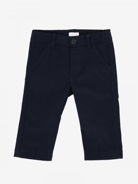 Il Gufo trousers in poplin with america pockets