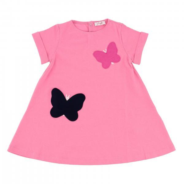 Mezza manica jersey con farfalle
