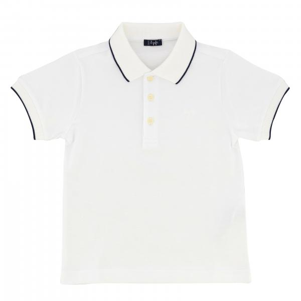 Il Gufo Polo with short sleeves