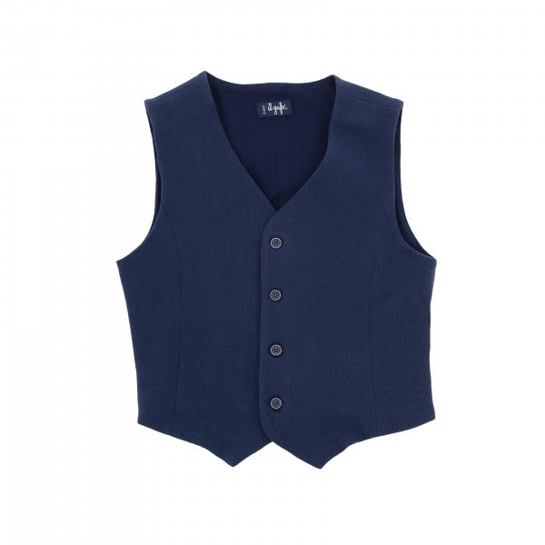 Classic single-breasted Il Gufo waistcoat