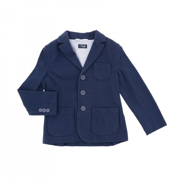 Shaped Il Gufo jacket with patch pockets