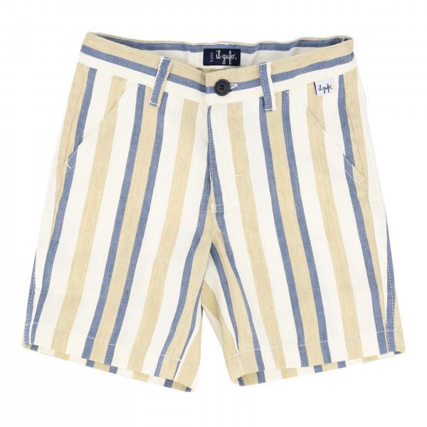 Il Gufo 条纹短裤