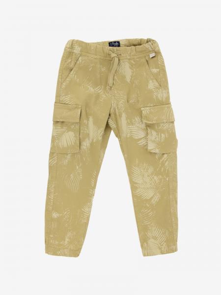 Il Gufo Kargo trousers with leaf print