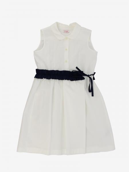 Il Gufo bicolor sleeveless dress