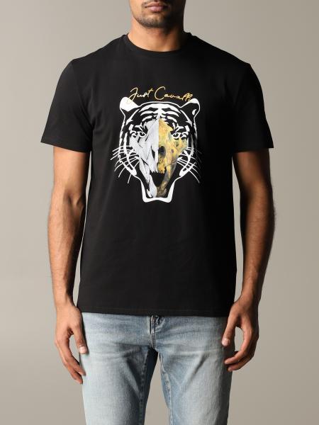 T-shirt Just Cavalli con stampa tigre