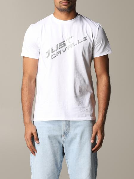 T-shirt Just Cavalli con stampa logo