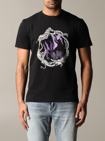 T-shirt Just Cavalli con stampa animali