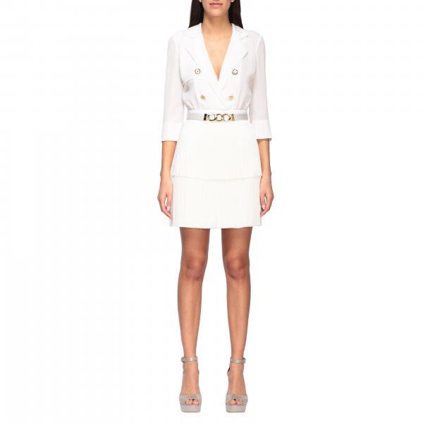 Elisabetta Franchi 流苏裙摆衬衫上衣连衣裙