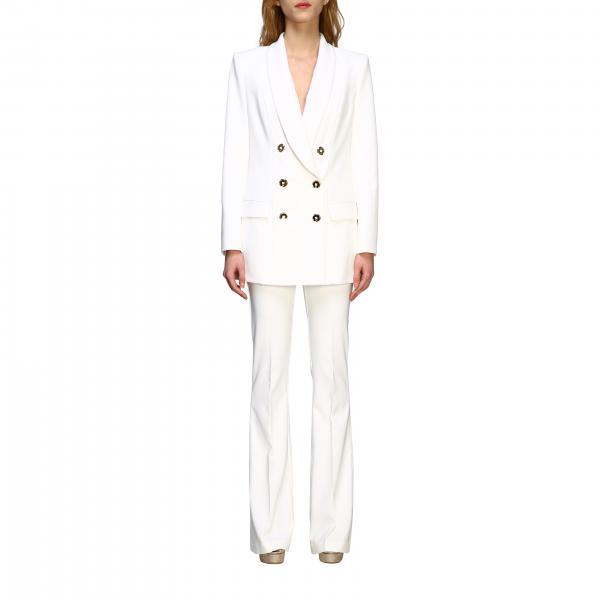 Elisabetta Franchi 双排扣长款西服外套