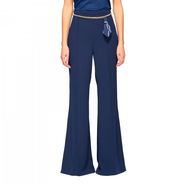 Elisabetta Franchi 链条装饰裤子