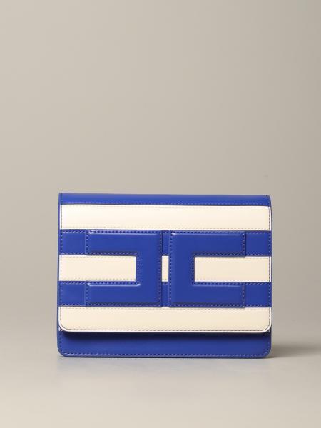 Сумка через плечо в полоску с логотипом Женское Elisabetta Franchi