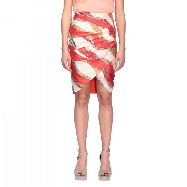 Elisabetta Franchi pencil skirt with chain print